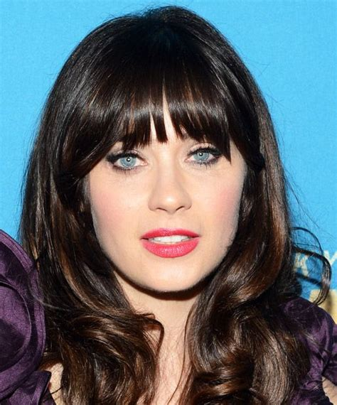 how to cut bangs like zoe gorgeous bangs for every face shape heart shape and bangs