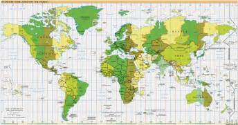 Map With Time Zones by Quick Maps Of The World Immigration Usa Com Flags Maps