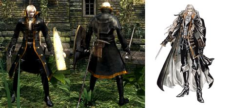 alucard coat tutorial alucards coat at dark souls nexus mods and community