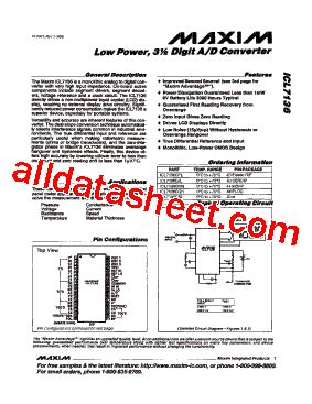 maxim integrated products number of employees icl7136 datasheet pdf maxim integrated products