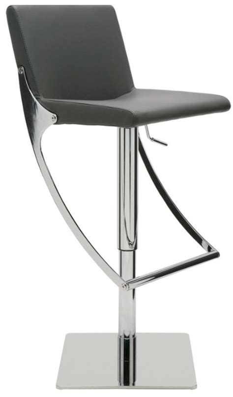 swinging bar stools nuevo swing ajustable bar stool modernselections