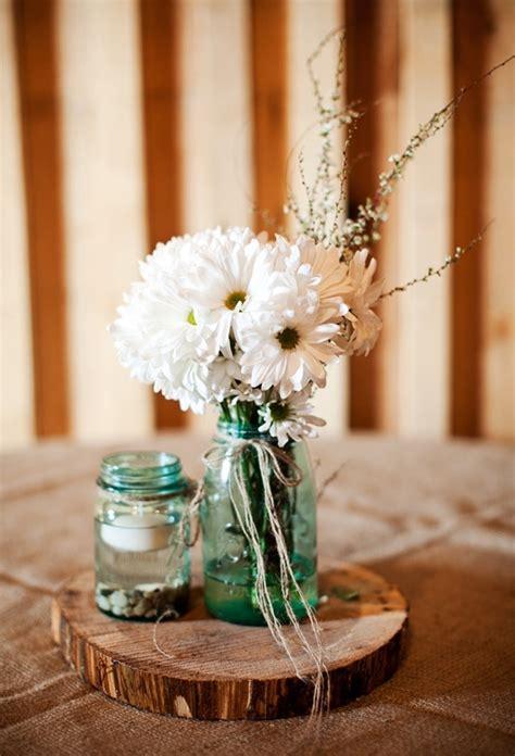 21 Rustic Wedding Centerpiece Ideas Rustic Wood Wedding Centerpieces