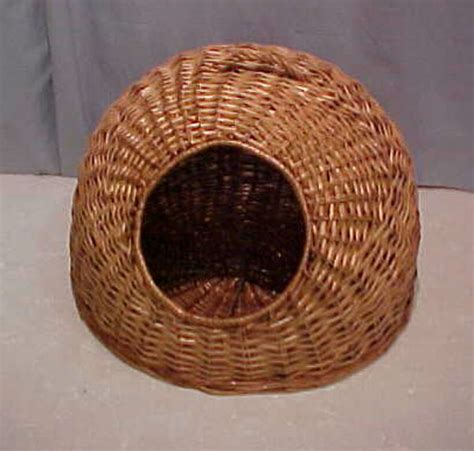 cat house buy 100 handmade wicker cat house buy igloo pet bed plush animal shape