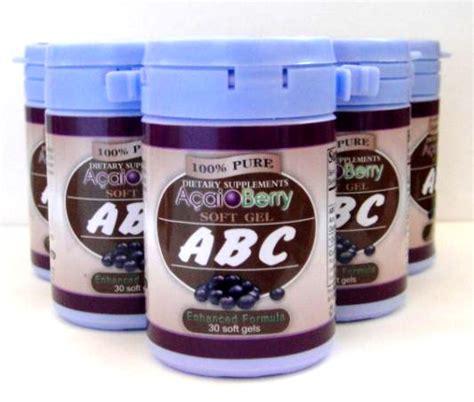 Acaibery Abc produk kami abc acaiberry asli