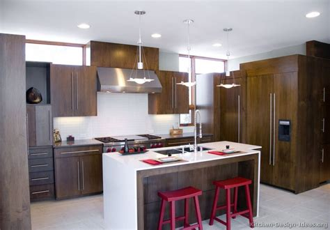 modern wood kitchen design pictures of kitchens modern dark wood kitchens