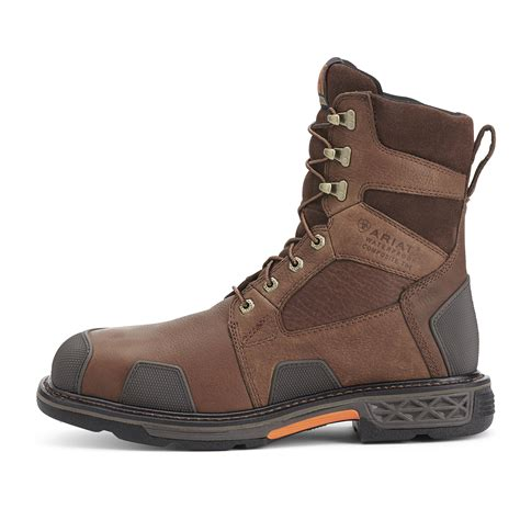 ariat overdrive work boots ariat overdrive 8 inch composite toe waterproof work boot
