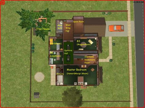 the simpsons house floor plan mod the sims the simpsons house a great family home