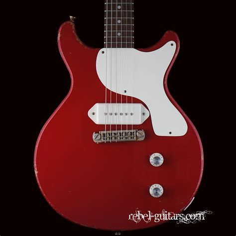 rock and roll relics rock n roll relics thunders dc in red rebel guitars