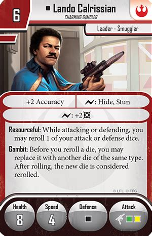 imperial assault deployment card template rebels wars imperial assault lando calrissian ally pack