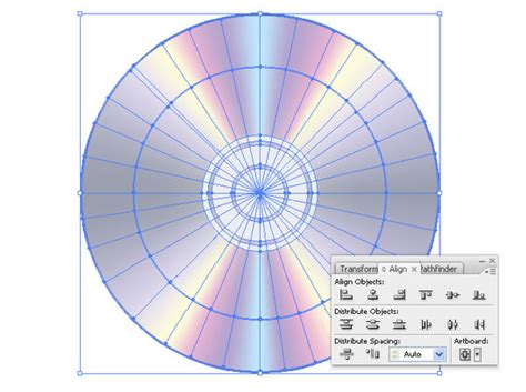 adobe illustrator radial pattern how to create a radial mesh in illustrator and make a