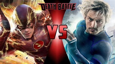 movie quicksilver vs flash the flash vs quicksilver super death battle fanon wikia