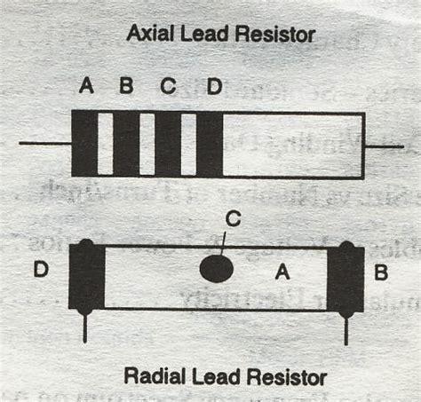axial resistor calculator resistors