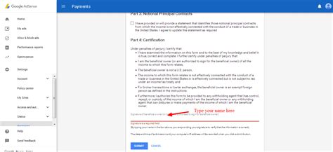 adsense tax info is pending verification how to submit tax information on google adsense as a non
