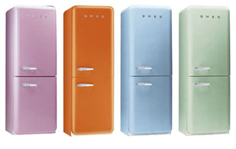 colored refrigerators colored refrigerators