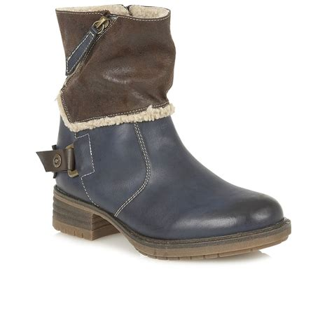 lotus doreen womens casual boots from charles
