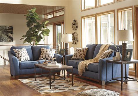 ashley furniture janley sofa janley denim loveseat from ashley coleman furniture