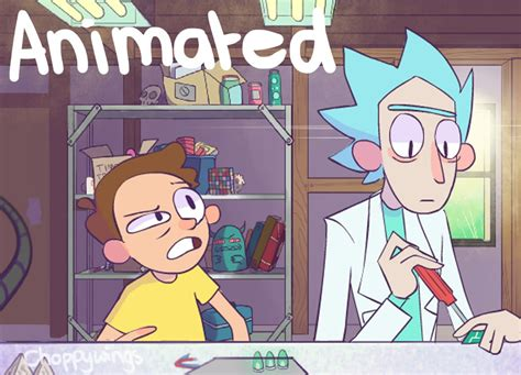 rick and morty fans rick and morty fan animation by choppywings on deviantart