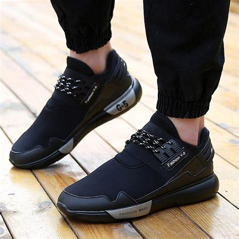 Sepatu Toods Zapato Black 2018 y3 sneakers antiskid breathable fashion