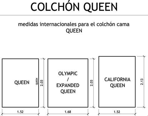 colchon queen medidas medidas arquitect 243 nicas y de arquitectura medidas de un