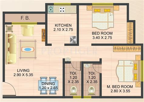 950 sq ft 2 bhk 2t apartment for sale in modi properties 950 sq ft 2 bhk 2t apartment for sale in mateshwari