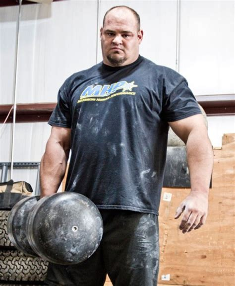 brian shaw strongman bench press muscle world