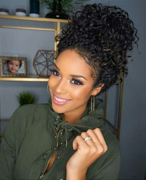 Curly Hairstyles For Black With Hair by Curly Hairstyles Black Hair Curly