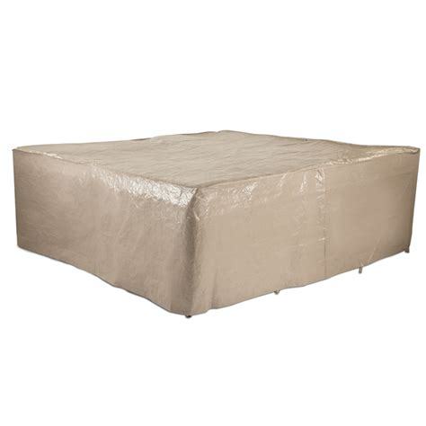 Outdoor Furniture Covers Bunnings Polytuf 9 Square Furniture Setting Cover Bunnings