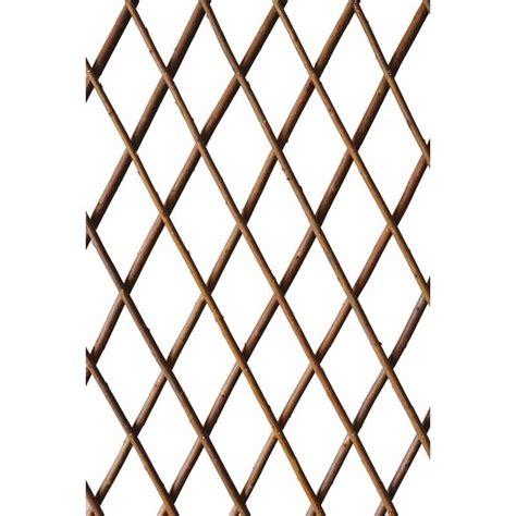 expandable willow trellis buy willow expandable trellis 180cm x 120cm at