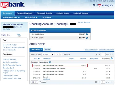 Checking Account Images Usseek