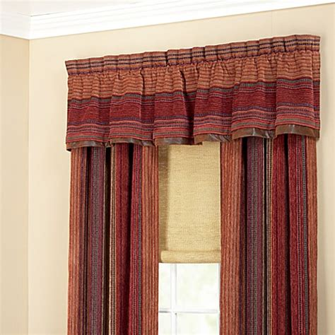 croscill plateau window valance bed bath