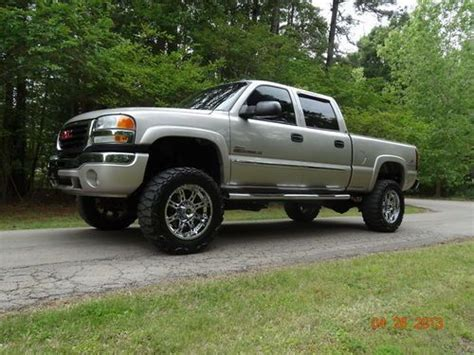 find used 2005 gmc sierra 2500 hd duramax diesel 4x4 slt in west chester pennsylvania united