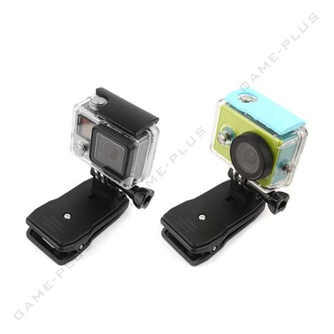With Rotary Clip For Gopro 5 3 360 176 rotary backpack hat rec mounts clip fast cl mount for gopro 4 3 2 1 ebay