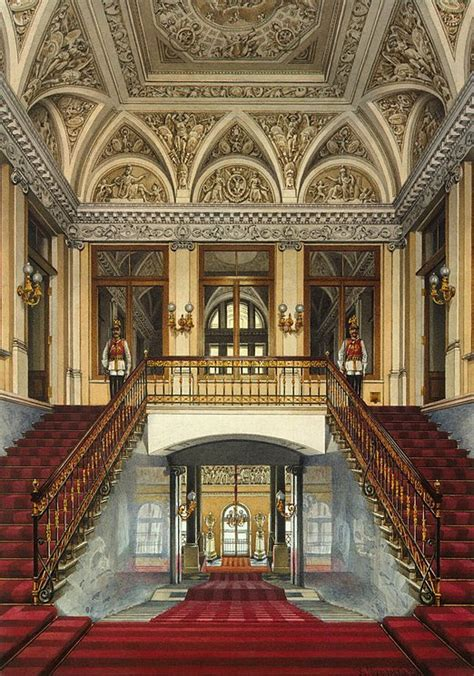 interiors   winter palace  personal entrance