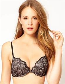 bra for ultimo the one lace bra in black lyst
