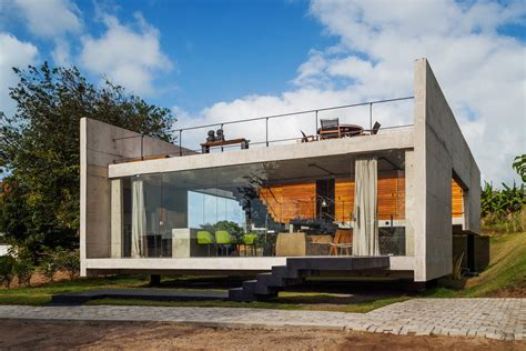 modern concrete house plans moderna ku艸a u sao paulu foto projekti ku艸a