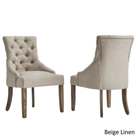 creativity tufted wingback dining chair furniture of