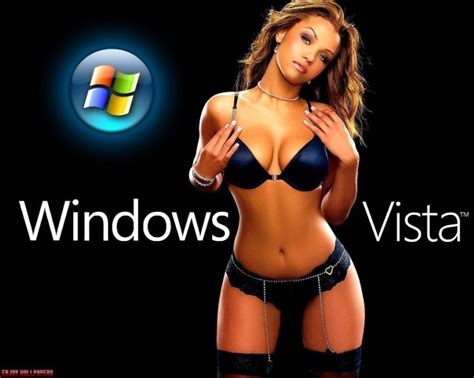 hot girl themes windows xp wallpaper windows vista sexy sexy jvl