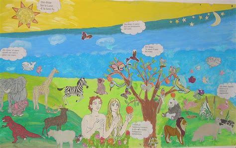 nel giardino degli angeli grande creazione mondo per bambini bs53 pineglen