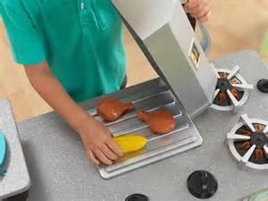 Chillin Grillin Kitchen Play Set Kidkraft Chillin Grillin Wooden Kitchen Toys