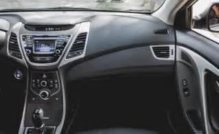 Hyundai Elantra 2014 Interior Car And Driver