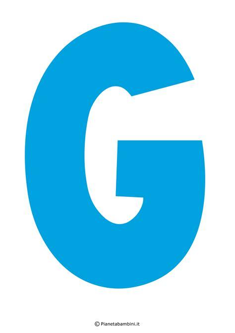 lettere dell alfabeto italiano da stare immagini della lettera g immagini della lettera g colorare