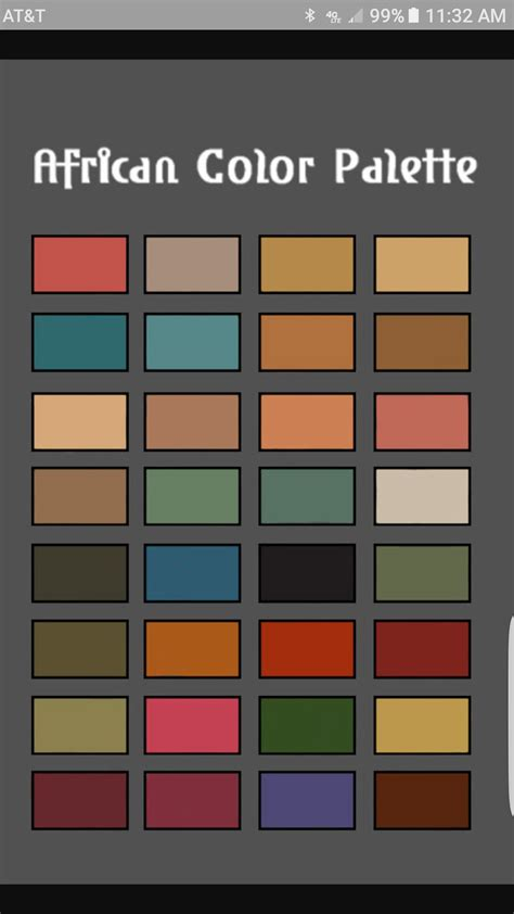 african color palette african home decor african