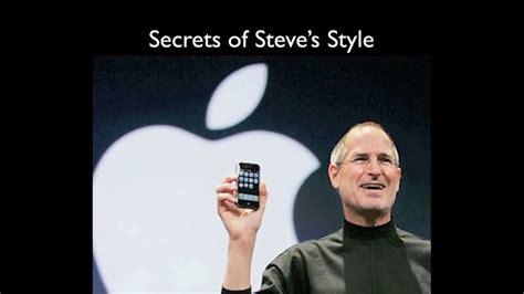 Steve Jobs Presentation Skills Youtube Steve Ppt