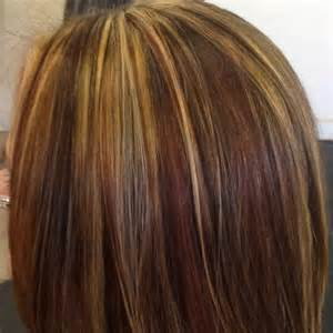 Tricolor highlight lowlight pieced haircolor hair pinterest