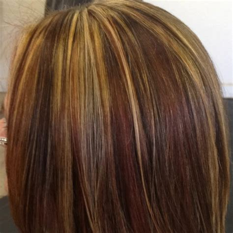 tri color hair styles gorgeous tricolor highlight lowlight pieced haircolor