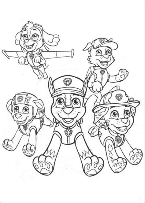 paw patrol super spy chase coloring pages kids n fun 23 kleurplaten van paw patrol
