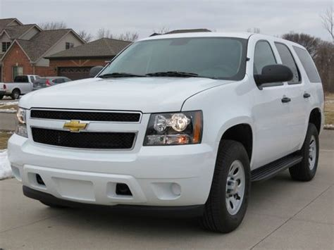 how petrol cars work 2008 chevrolet tahoe electronic throttle control sell used 2009 chevrolet tahoe police ssv 4x4 white 3k miles rare look in clinton township