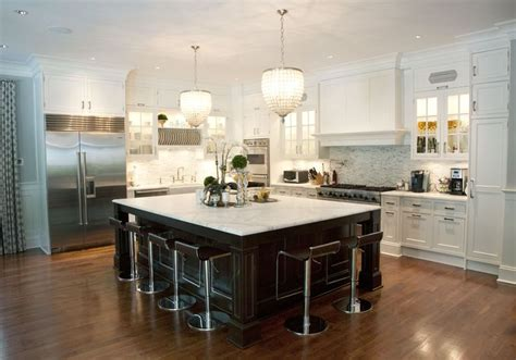 Kitchen Work Island kitchen remodel with huge island custom kitchens