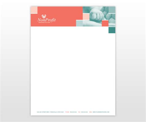 charity letterhead template charity letterhead just b cause