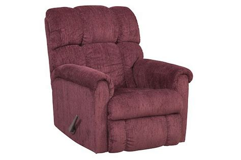burgundy recliner chair burgundy rocker recliner at gardner white